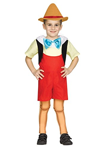 Wooden Boy Doll Toddler Costume (Costume Pinocchio)