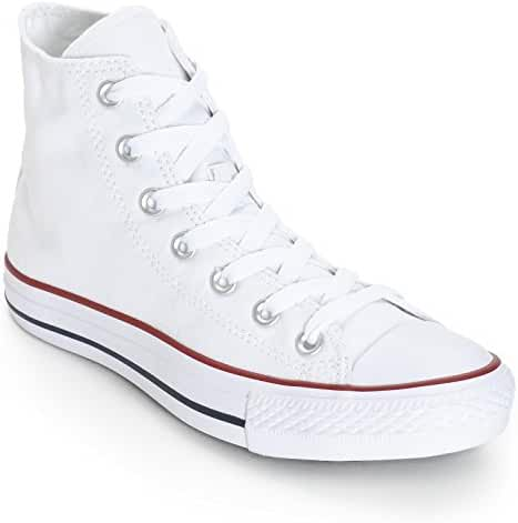Converse Unisex Chuck Taylor All Star High Top Sneakers (8.5 D(M), Optical White)