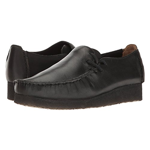 CLARKS Women's Lugger Slip on Black Smooth Leather low price fee shipping MghouCz1A