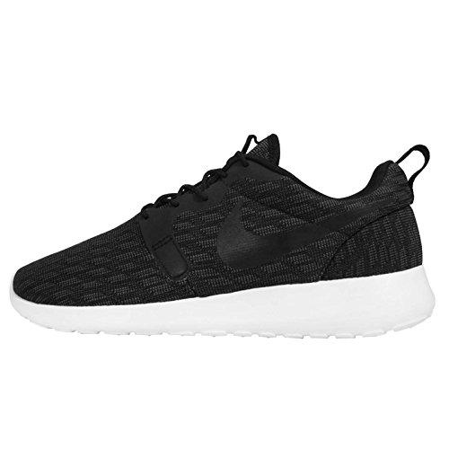 NikeRosherun Kjcrd - Zapatillas de Running Hombre black black dark grey white 001