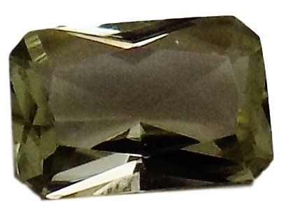 1.87 Ct. Zultanite Natural Color-change Loose Gemstone 8x6mm Emerald Cut Cert of Auth B008a by Zultanite