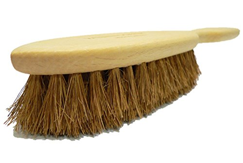 Carpet Rugs Cleaning Brush All Natural Coconut Fibers Made in - Cat Valentino