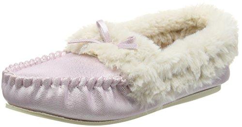 Dunlop Damen Amaline Hausschuhe Violett (Flieder)