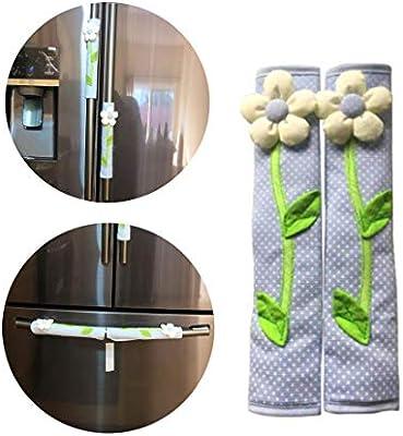 Hebudy - Protector para mango de nevera para decoración del hogar ...