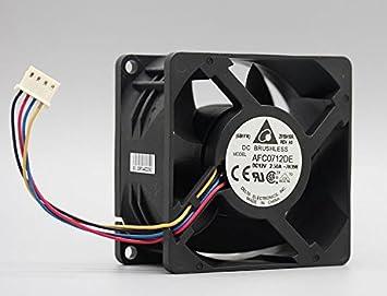 Zyvpee AFC0712DE - Ventilador de refrigeración (12 V, 2,5 A, 4 ...