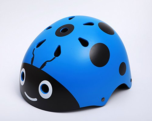 Kids-Ladybug-Helmet-Cute-Street-Bike-Helmet-Specialized-for-Tricycle-Roller-Skating-Skating-Cycling-Fun-Beatles-Print-48-54cm