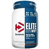 Dymatize Nutrition Elite Whey Protein Powder, Rich Chocolate, 2.07 Pound