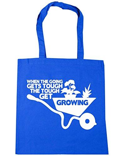 HippoWarehouse - Bolsa de playa de algodón  Mujer, azul (azul) - 21442-TOTE-cornflower blue