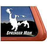 I Love My Springer Sticker Vinyl Auto Window spaniel english Mister Petlife PD-0180
