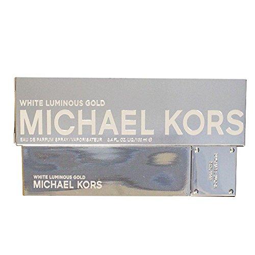 Michael Kors White Luminous Gold Eau De Parfum Spray for Women, 3.4 - Eau Parfum Spray Gold De