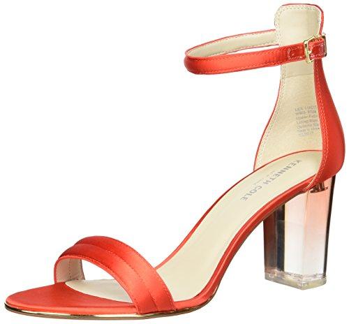 Delle Donne Sandalo Lucite Tacco Cachi New York Vestito Tallone Kenneth Cole Lex vpOqzY008