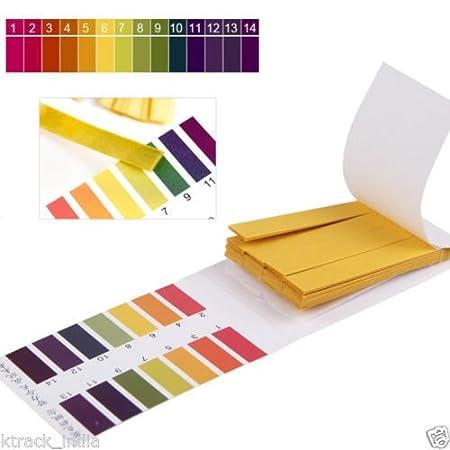 Gooseberry Suplex36 Full pH 1-14 Test Indicator Litmus Paper Water Soil Testing Kit, 80 Strips 1