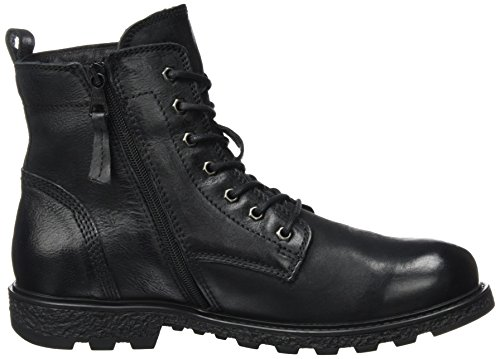 Mjus Herren 334204-0201-6002 Combat Boots Schwarz (Nero)