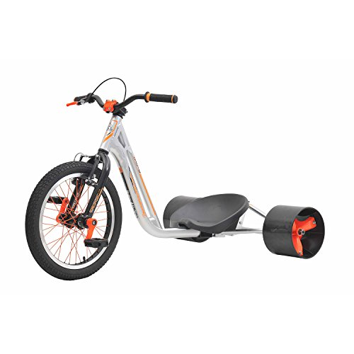Triad Countermeasure 2 Tricycle, Silver/Neon Orange