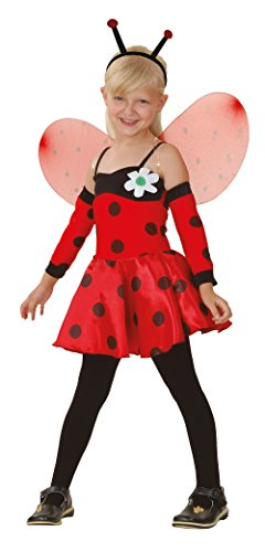 Bristol Novelty Ladybug Costume Medium Child Girl Age 5 - 7 Years for $<!--$13.11-->