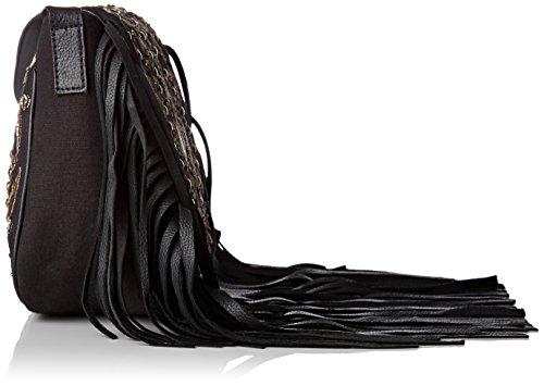 Antik Batik Ziggy Bag - Borse a tracolla Donna, Noir (Black), 5x20x24 cm (W x H L)