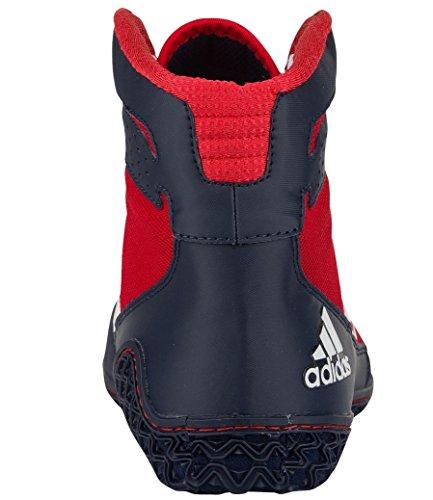 Adidas Performance Mens Mat Wizard.3 Worstelschoenen Rood / Wit / Marine