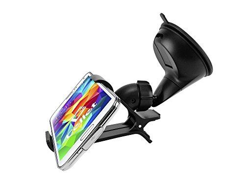 """Cellet 4.1""""  Windshield / Dashboard Car Mount Phone Holder f"""
