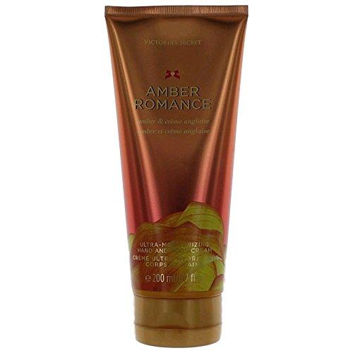 [Victoria's Secret Fantasies Amber Romance Ultra-moisturizing Hand & Body Cream 6.7oz] (Amber Moisturizer)