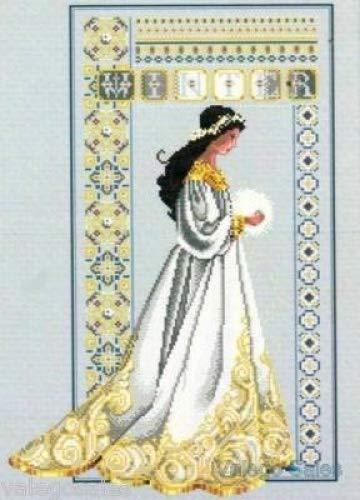 Cross Stitch Lace - Celtic Winter Cross Stitch Pattern