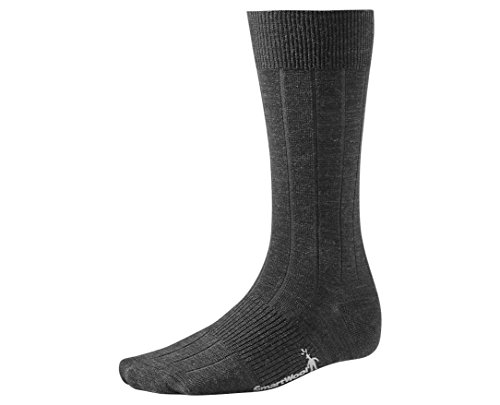 Smartwool City Slicker Socks Charcoal Heather Large