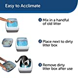 PetSafe Deluxe Cat Litter Box with Crystal Litter