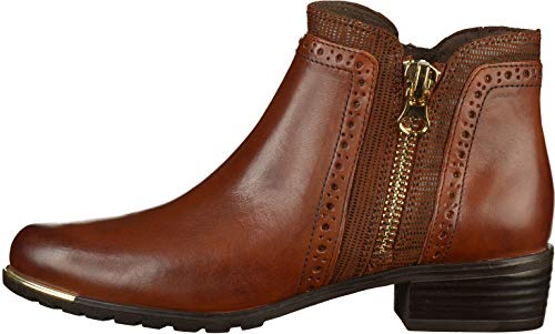 Comb 913 21 913 9 Cognac Ankle Women's Boots Caprice 9 25403 Brown nWBqZBPvxC