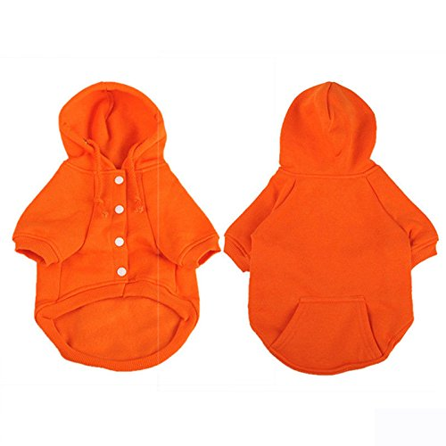 Dog Vest AU Father Puppy XS Hoodie Sweatshirts Knitted Orange 17 Dress Solid Clothes Pet Winter 11 S Christmas Sweater Jumper Hoodie rwrCn1qB