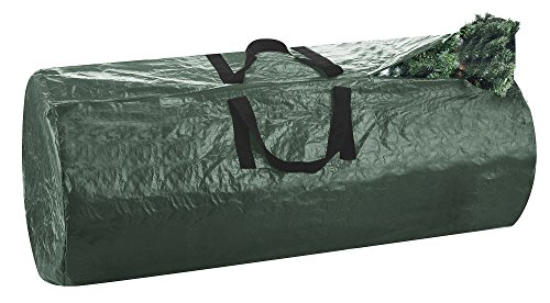 Elf Stor 1005 Premium Christmas Bag-Extra Large, for a 9 Foot Artificial Tree in Green-Easy Holiday Décor Storage, 9',
