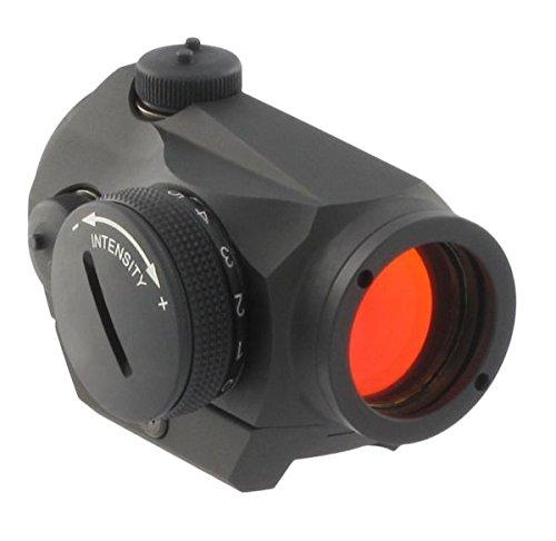 AimPoint 200018 Micro, H-1 2 MOA W/Standard Mount (Black Military Matte Cap)