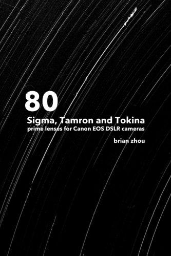 80 Sigma, Tamron and Tokina prime lenses for Canon EOS DSLR cameras