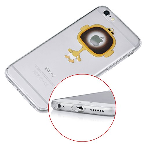 iProtect TPU Schutzhülle Apple iPhone 6 6s Soft Case Silikon - Gel Hülle Cry Baby
