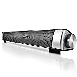 Bluetooth Sound Bar Elegiant Wired And Wireless Computer Speakers Portable Home Theater Stereo Soundbar Speaker For Pc Desktop Laptop Tablet Iphone Ipad Samsung Projector And Android Cellphones
