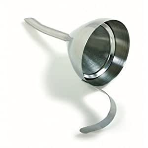 Funnel with Strainer Screen Filter 18/10 Stainless Steel