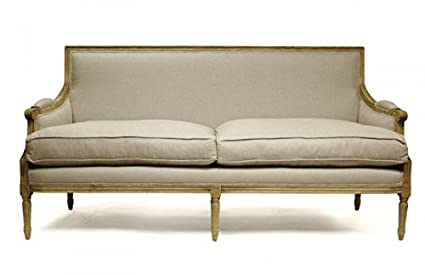 Terrific Amazon Com Zentique Louis Sofa B007 3 E255 A003 Kitchen Machost Co Dining Chair Design Ideas Machostcouk
