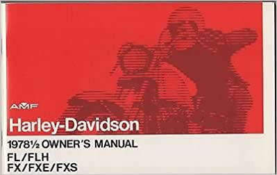 harley fxe manual