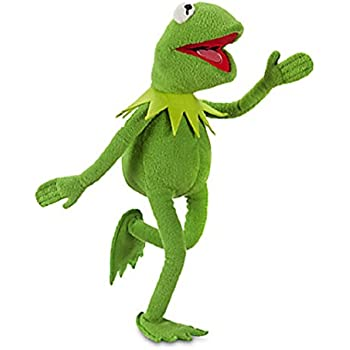 """The Muppets Movie Kermit the Frog Disney Exclusive 16"""" Designer Plush Doll"""