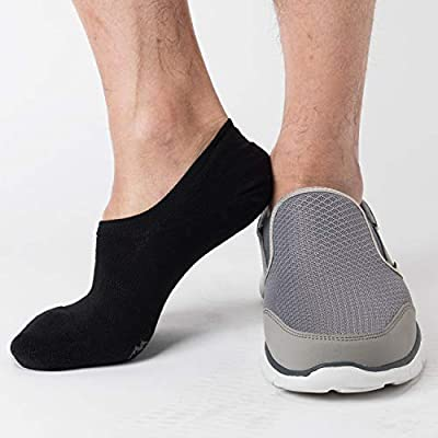 Pro Mountain No Show Socks - Athletic Cushion Cotton Sport Footies For Women Men at Women's Clothing store