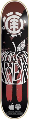 Element Brett/Deck Skateboard Silhouette 20,6Featherlight 20,96 6Featherlight 20 1DELEAPPSI81200