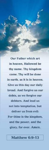 1 X Bookmark Lords Prayer Adult (Package of 25) for cheap