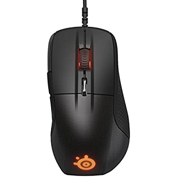 SteelSeries Rival 700 Gaming Mouse, OLED Display, Tactile Alerts, 16000 CPI, Multicolor - Black