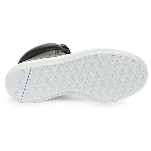 Adidas Vrouwen Honing 3,0 Mid Zwart / Wit Lederen Schoenen S82479