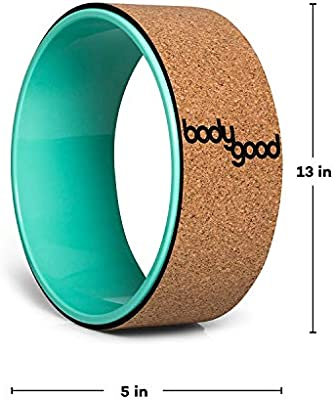 BodyGood Rueda de Yoga Yoga Wheel - Wood: Amazon.es ...