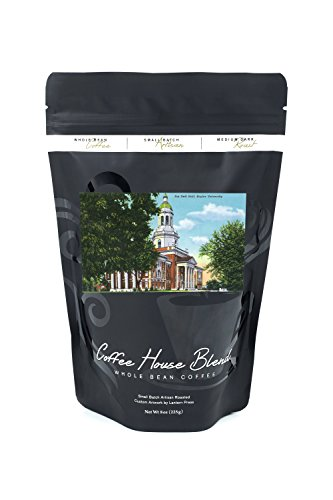 Waco, Texas - Baylor University; Exterior View of the Pat Neff Hall (8oz Whole Bean Small Batch Artisan Coffee - Bold & Strong Medium Dark Roast w/ - W Waco