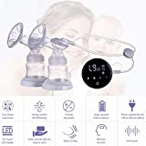 Double Electric Breast Pump Touch Screen Single and Double Nipple Attractive Powerful Automatic