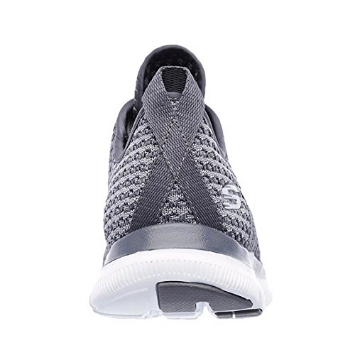 Appeal Shoes Bold Trainers Womens Sports Ladies 0 SK12773 Flex Charcoal 2 Skechers Move x6HFZqq