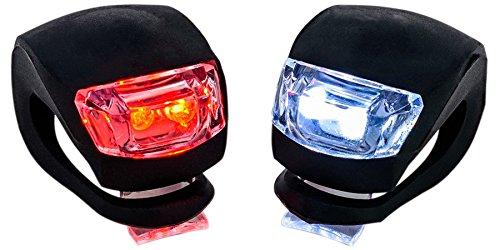 EchelonLine LED Fahrradlampen, der einzige Wasserdichte Fahrradbeleuchtung Set mit Garantie (10% Rabatt Gutschein