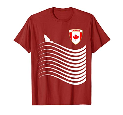 - Canada Soccer Jersey Canadian Football T-Shirt
