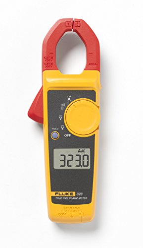 Fluke 117/323 Kit Multimeter and Clamp Meter Electricians Combo Kit