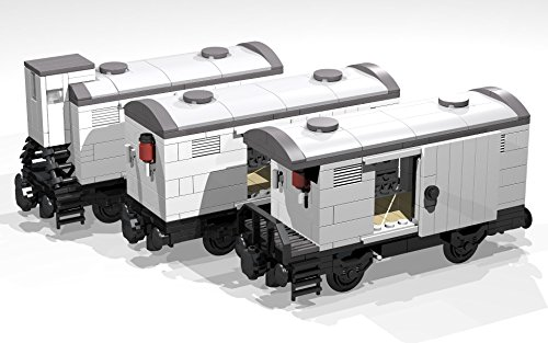 Amazon Collection Of Five 4 And 8 Wheel Reefer Wagons Lego